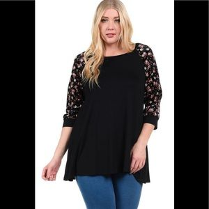 New Top.Plus Size.